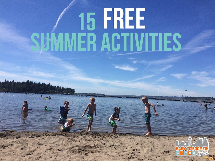 Free summer activities: beach day