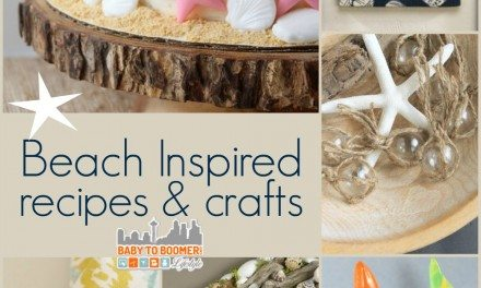 Beach Inspired Recipes and Crafts
