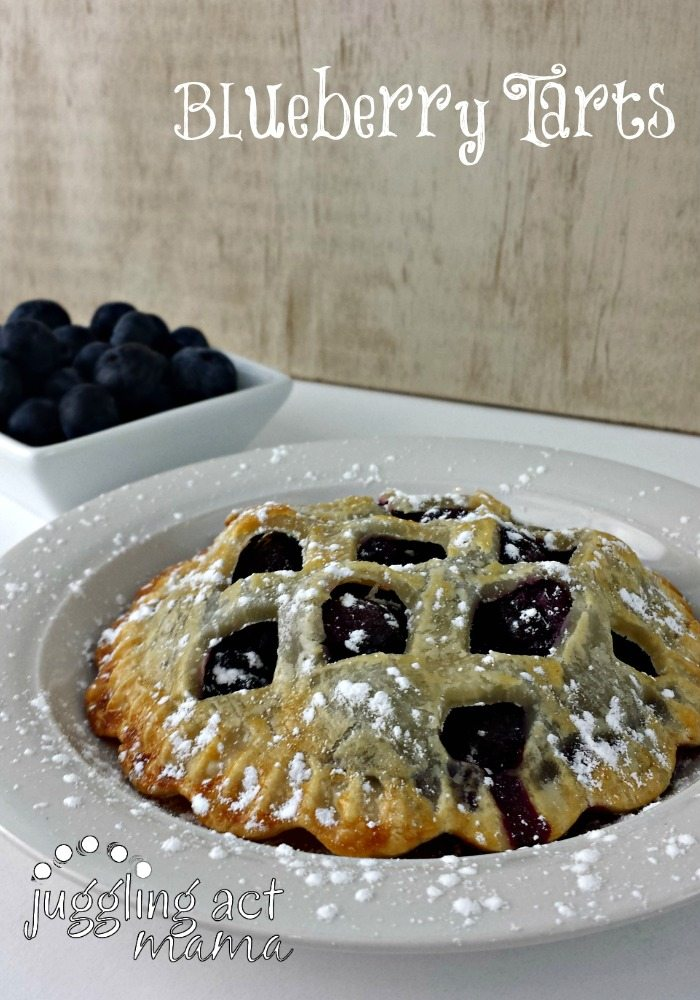 Blueberry Pie Tarts