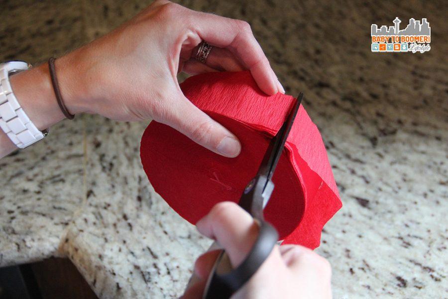 DIY LEGO Pinata -- Cutting Fringe - Lego Pinata - Create Your Own DIY Party Decor