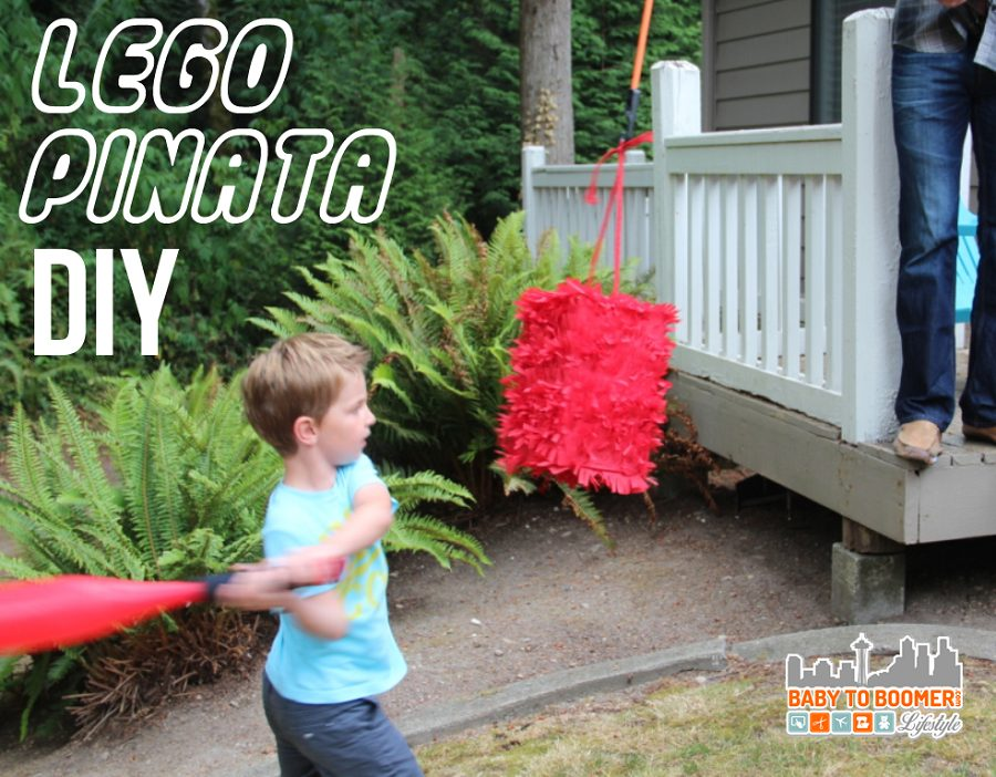 Lego Pinata - Create Your Own DIY Party Decor