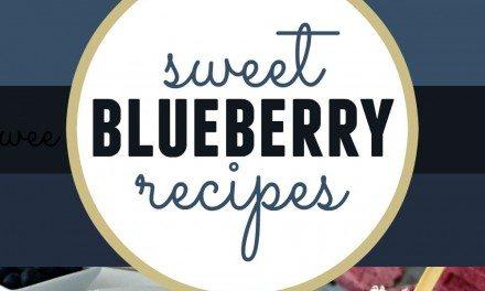 Summer Dessert: 14 Fabulously Sweet Blueberry Recipes