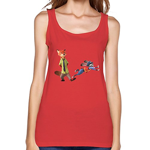 Disney Women's Zootopia Tank Top (Additional Colors Available)