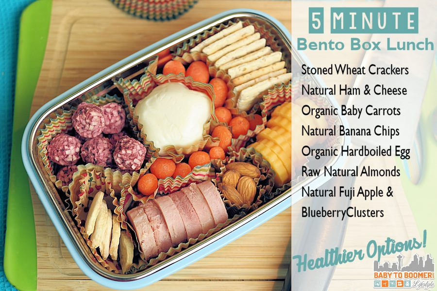 5 minute Healty bento box lunch -  #CVSHealthierSummer #ad