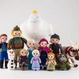 Crochet Kits: FROZEN and Princesses Amigurumi Patterns Released for Fall
