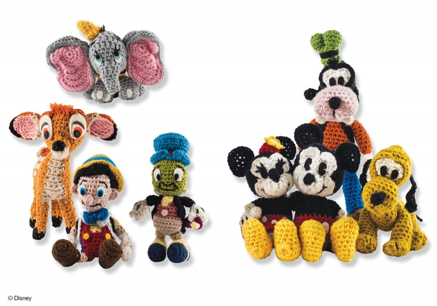7087 Classic Disney Crochet Kit 1433444073