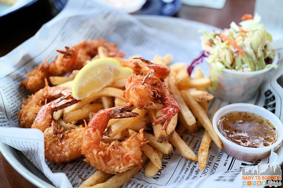 Coconut Shrimp - Bubba Gump Shrimp Co, Cannery Row, Monterey, CA