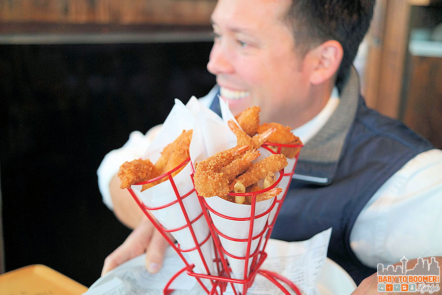 Fried Trio - Bubba Gump Shrimp Co, Cannery Row, Monterey, CA AD