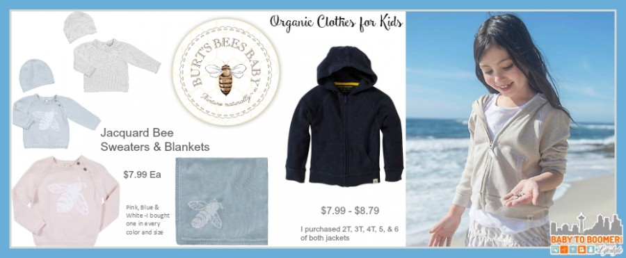 Burts Bees Organic Baby Clothing Shopping Haul