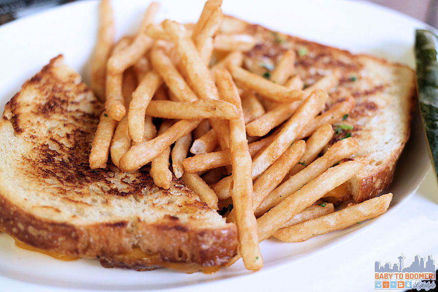 Grilled cheese and fries - Cannery Row Brewing Company - #CanneryRow ad