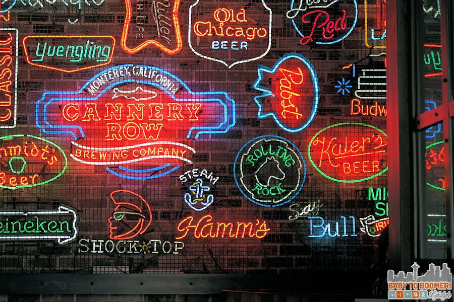 Neon Signs - - Cannery Row Brewing Company - #CanneryRow ad