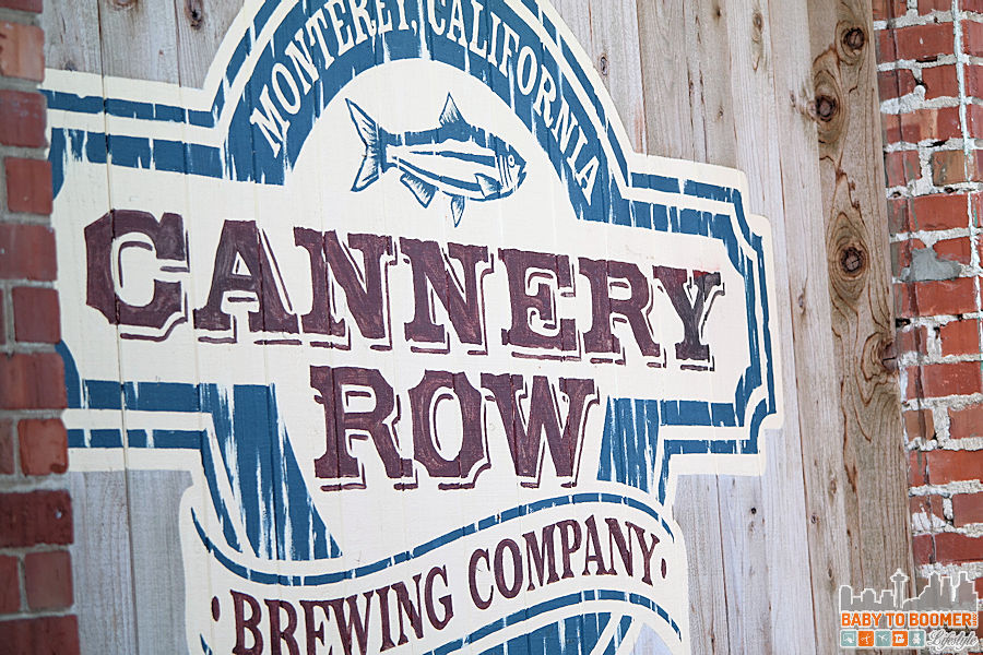 Sign - Cannery Row Brewing Company - #CanneryRow ad