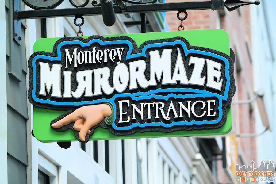 California: Monterey Mirror Maze and Black Light Mini Golf – Psychedelic Fun on CanneryRow