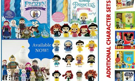 Crochet Kits: FROZEN and Princesses Amigurumi Patterns