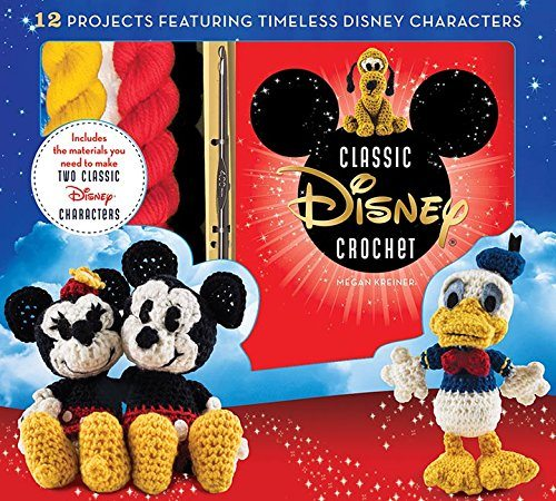 Disney Classic Crochet Kit and Amigurumi Pattern Book
