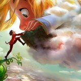 GIGANTIC: Disney Reveals Jack-in-the-Bean Stalk Inspired Film