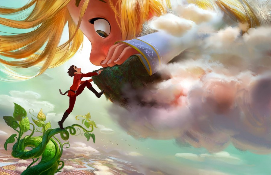GIGANTIC: Disney Reveals Jack-in-the-Bean Stalk Inspired Film - a new animated film slated for 2018