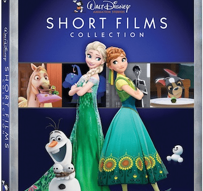 Walt Disney SHORT FILM Collection Available on BluRay Today