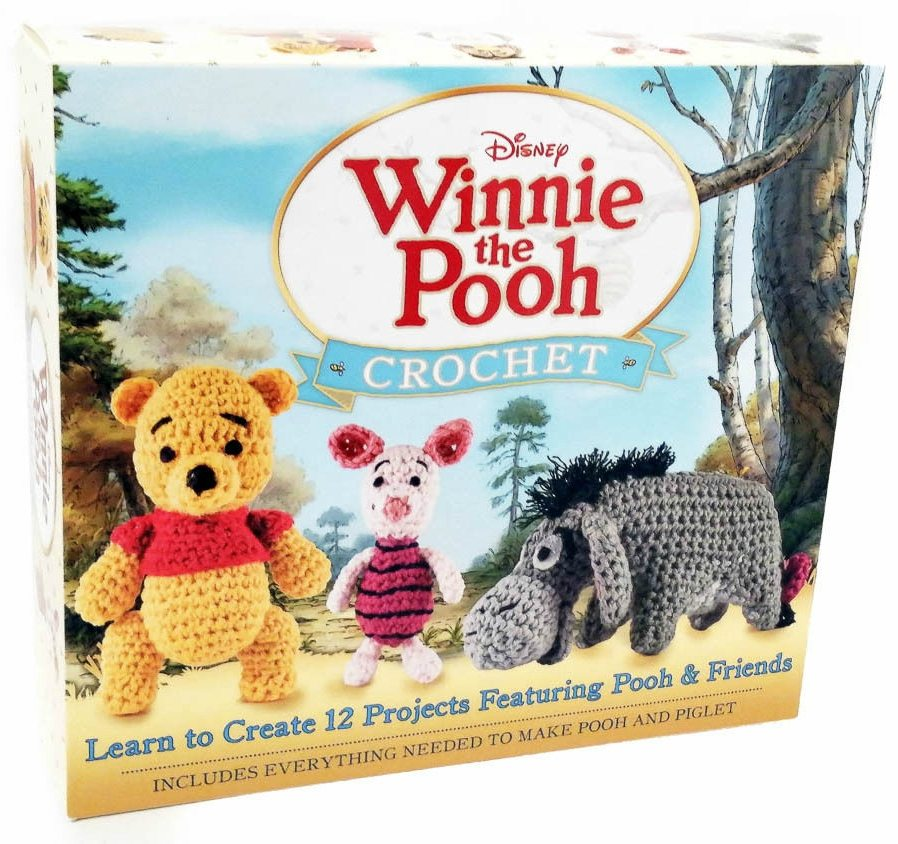 Disney Winnie the Pooh Crochet Kit by Megan Kreiner