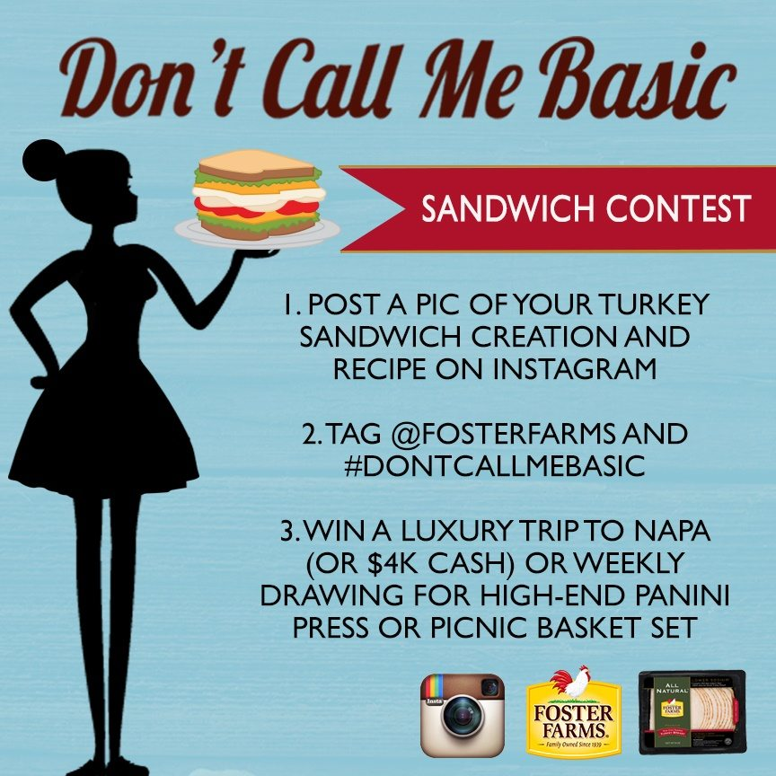 Dont Call Me Basic Foster Farm Contest