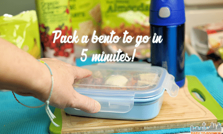 Pack a Healthy Bento Box School Lunch in Five Minutes