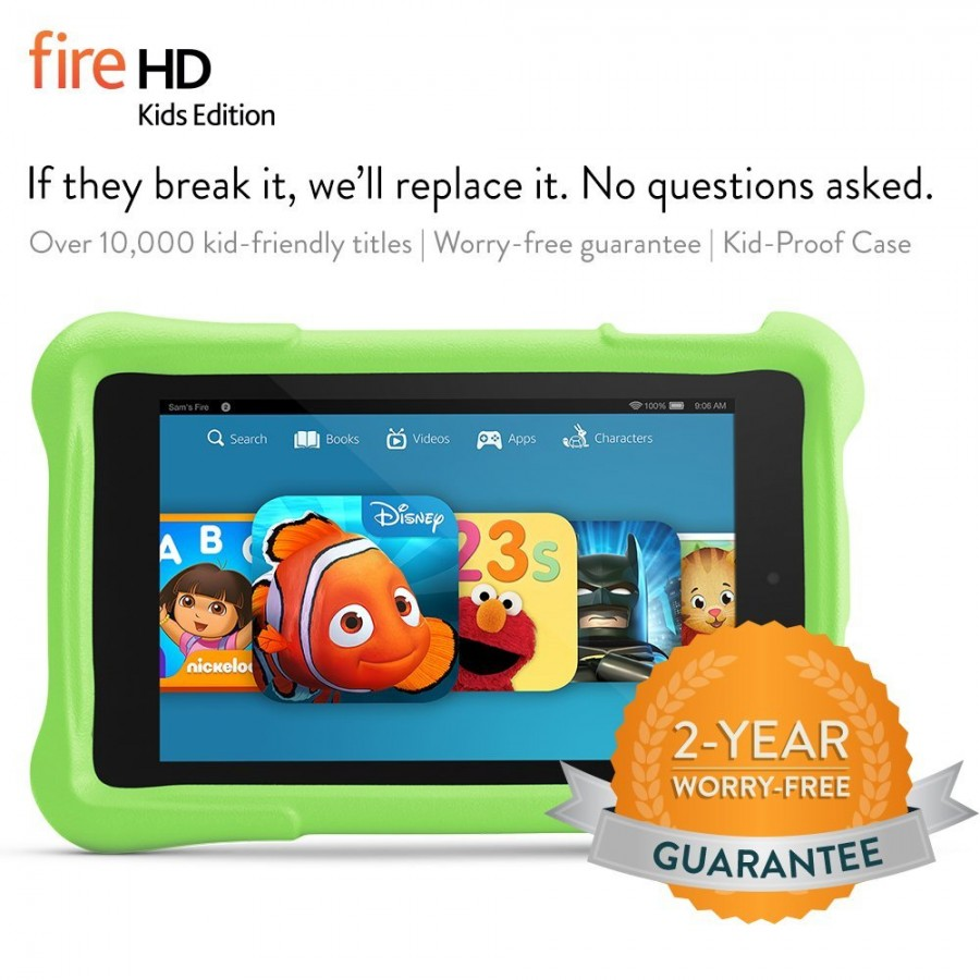 Fire HD Kids Edition Guarantee