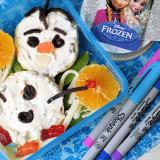 Easy Lunch Box Idea: FROZEN Olaf Sandwich