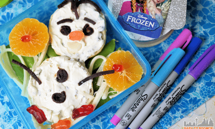 Easy Lunch Box Idea: FROZEN Olaf Sandwich