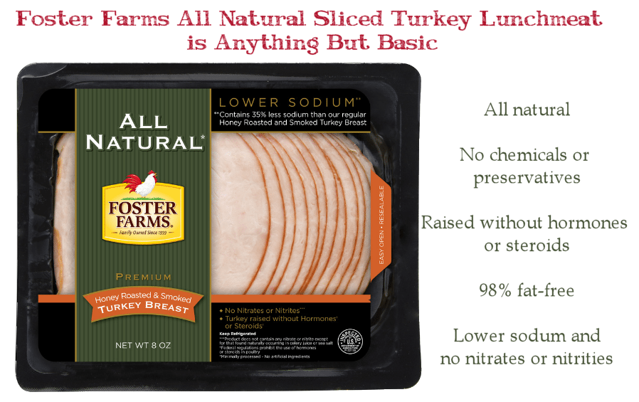Foster Farms Honey Roasted Turkey #DontCallMeBasic #ad