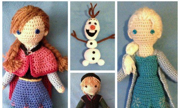 Frozen Amigurumi Patterns
