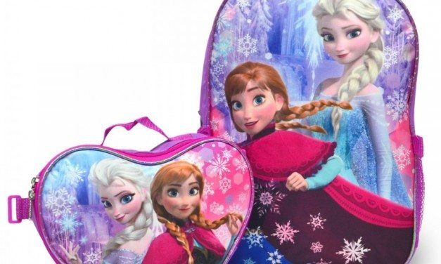 Back to School Shopping: Disney Frozen Backpacks