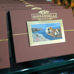 Monterey: Ghirardelli Chocolate and Ice Cream Store  #CanneryRow
