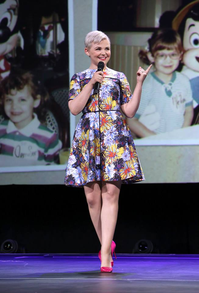 """Actress Ginnifer Goodwin of ZOOTOPIA took part today in """"Pixar and Walt Disney Animation Studios: The Upcoming Films"""" presentation at Disney's D23 EXPO 2015 in Anaheim, Calif."""