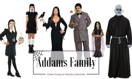 Fun Group Halloween Costumes: The Addams Family