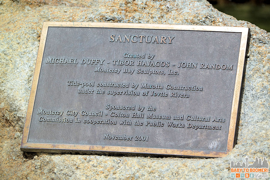 Monterey Bay Inn - Sanctuary Plaque