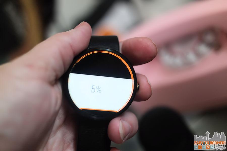 Moto 360 Charging - Motorola Moto 360 Smartwatch - AT&T #ATTSEATTLE ad