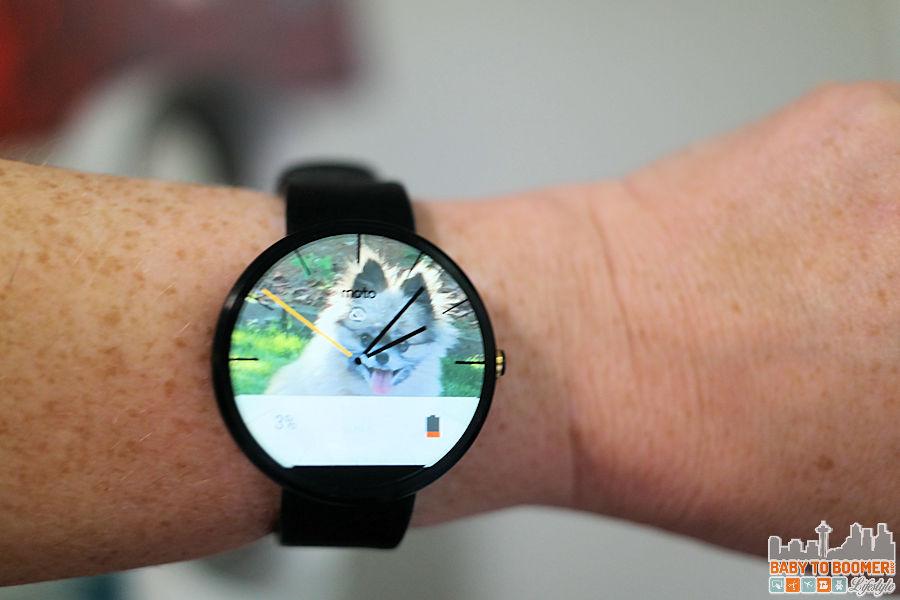 Motorola Moto 360 Smartwatch - AT&T #ATTSEATTLE ad
