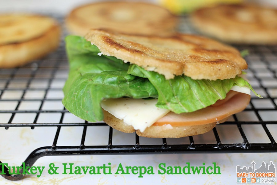 PAN Arepa Sandwich  - Arepa - Venezuelan Bread Takes Your Sandwich Global #PANFan #IC