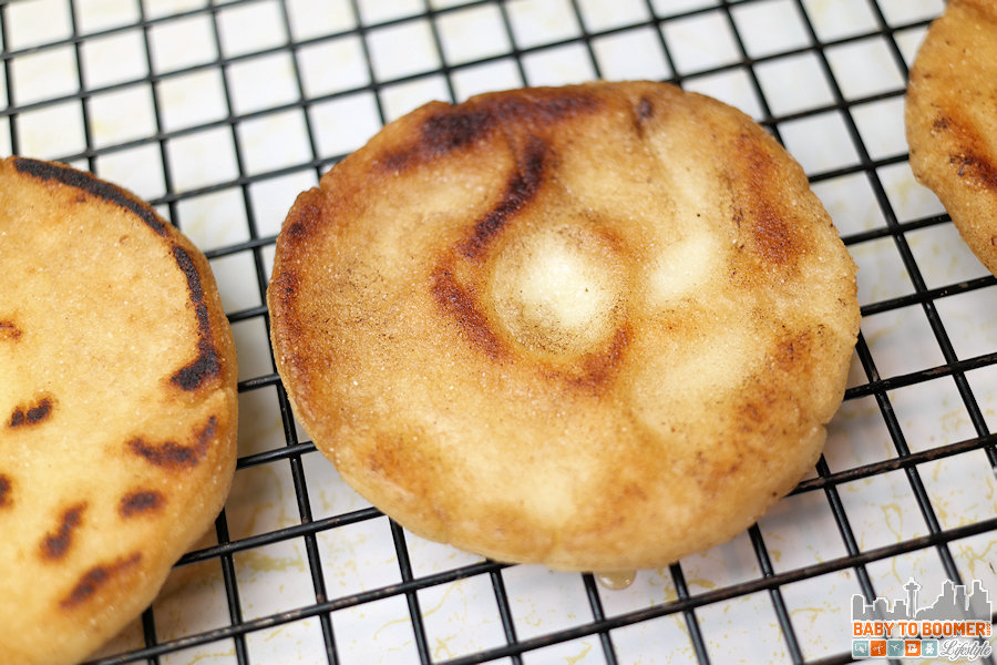 P.A.N. Cornmeal Arepas - Arepa - Venezuelan Bread Takes Your Sandwich Global #PANFan #IC
