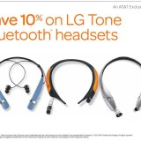 Save on LG Tone Wireless Stereo Headsets at AT&T #GIVEAWAY