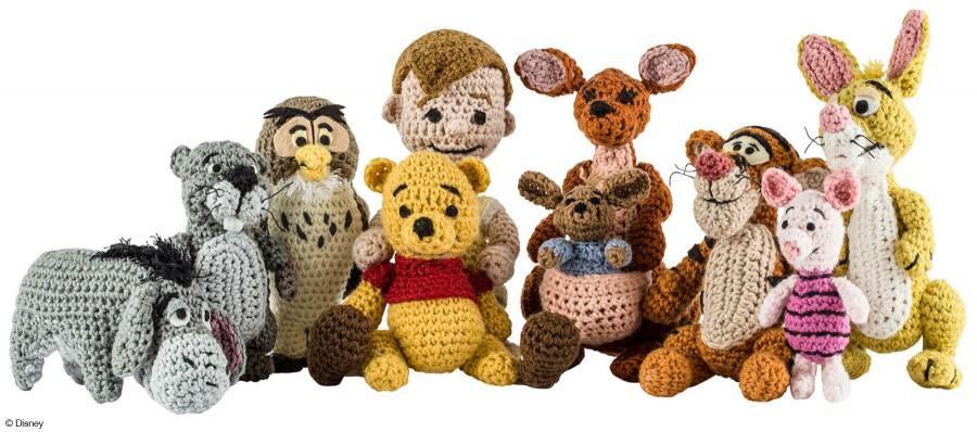 Winnie the Pooh Crochet Kit 1433444170