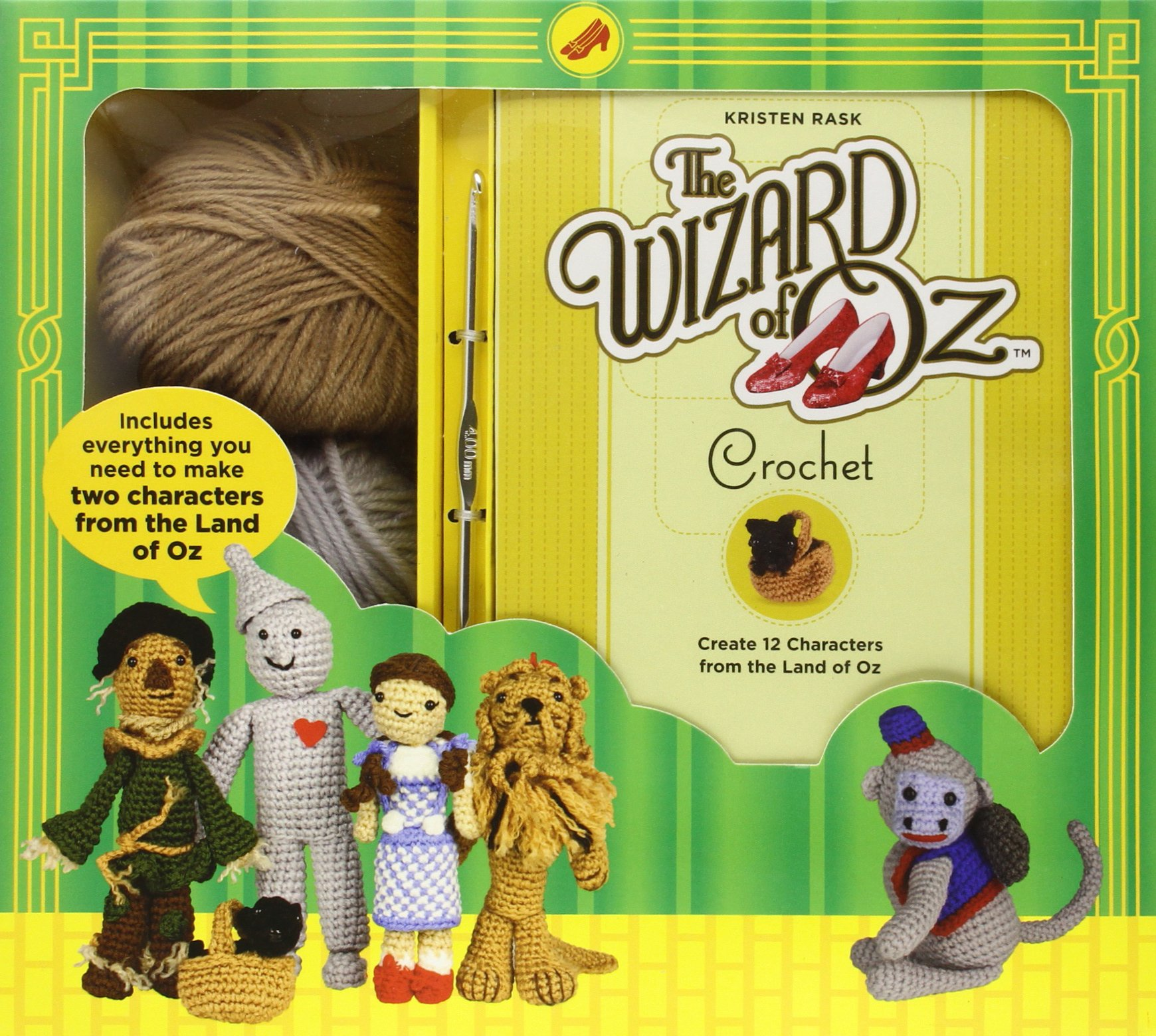 Crochet Patterns Kits : Wizard of Oz Imagurumi Crochet Pattern Kit