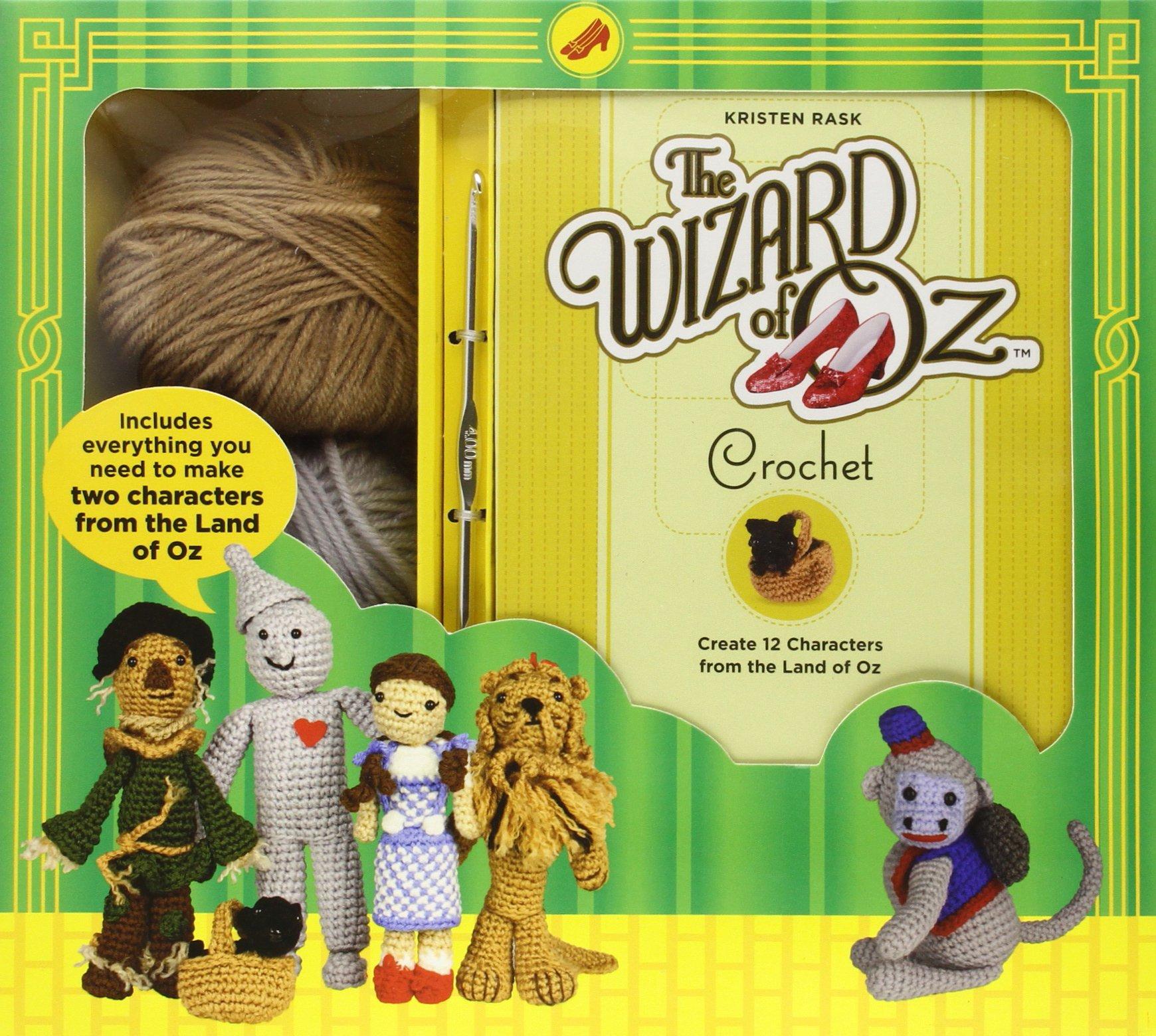 Crochet Patterns Kits : Wizard of Oz Imagurumi Crochet Pattern Kit