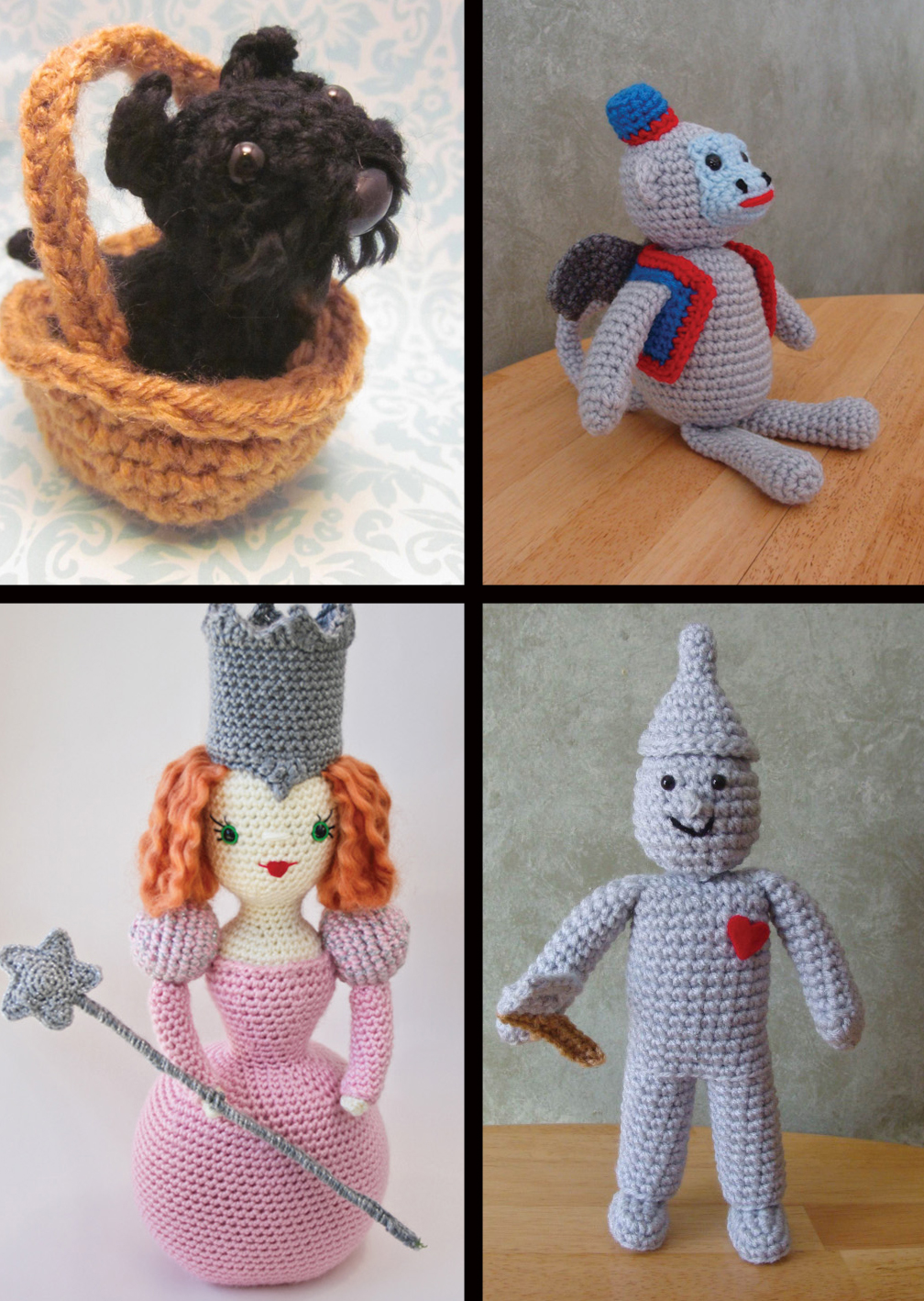 The Wizard of Oz Crochet Kit and Amigurumi Pattern Book