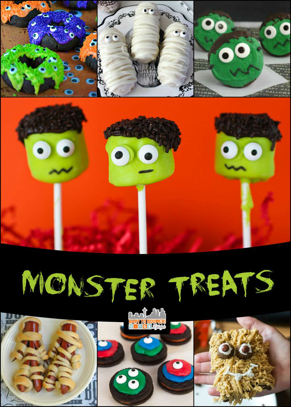Monster treats perfect for Halloween!