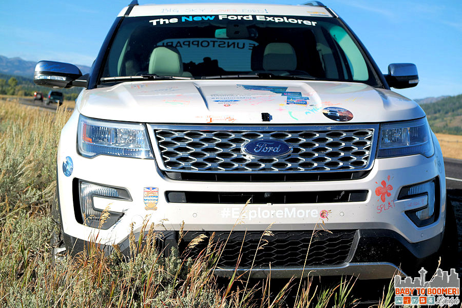 2016 Ford Explorer Platinum Tour - Front ad