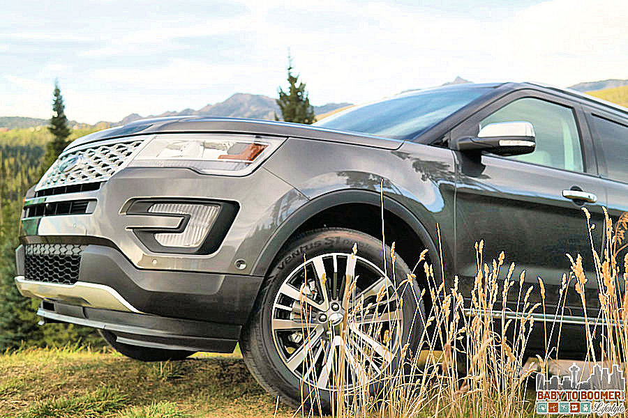 2016 Ford Explorer Platinum in the weeds ad