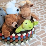 Free Bobble Storage Basket Crochet Pattern – Perfect For Baby's Toys or Yarn
