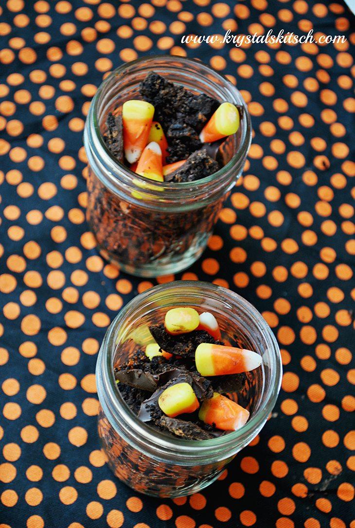 Candy Corn Oreo Bark