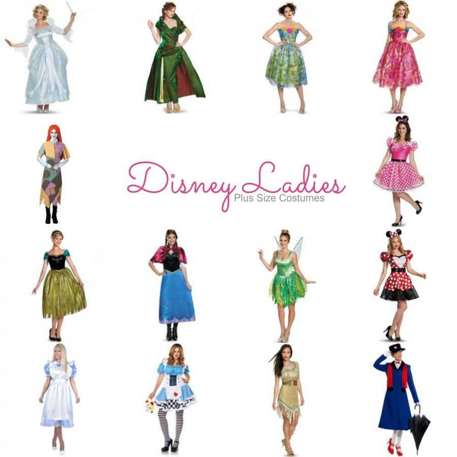 Halloween 2017 Disney Costumes Plus Size & Standard Women's Costume Characters - Women's Costume CharactersDisney Ladies Plus Size Costumes